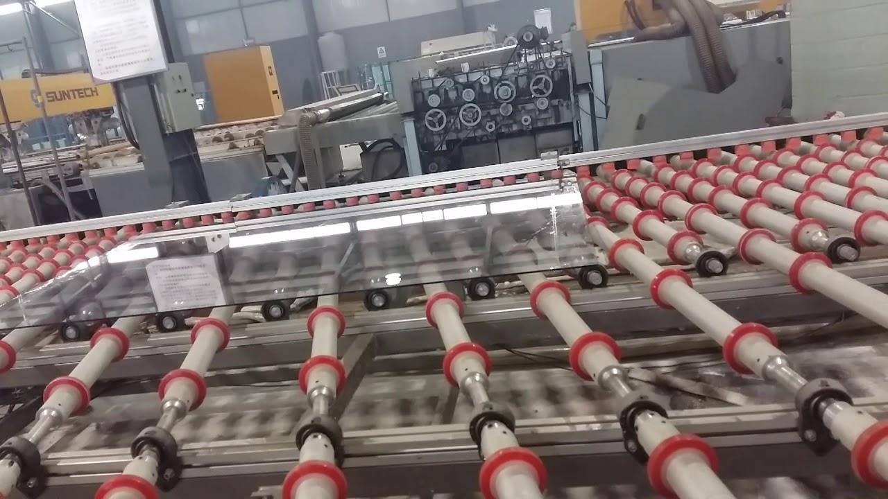 Download Hiseng Glass Machinery - Double Edger Line (Shanxi Taiyuan)