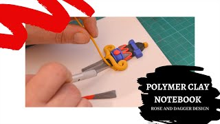 HOW TO | Sculpting a polymer clay notebook