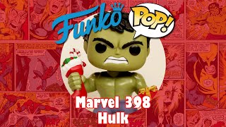 Hulk with presents Funko Pop unboxing (Marvel 398)