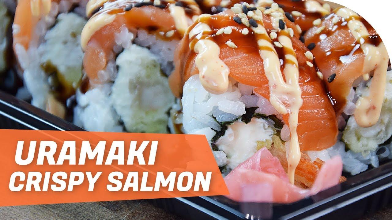 how to make salmon wraps