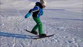 обзор ульракоротких горных лыж Snowblade