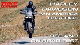 Harley Davidson Pan America (Off & On Road First Ride) 4K