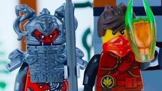 LEGO Ninjago Movie STOP MOTION W/ Kai Vermillion Egg Hunt  | Ninjago | By Lego Worlds