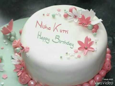 Nisha Birthday Song Youtube