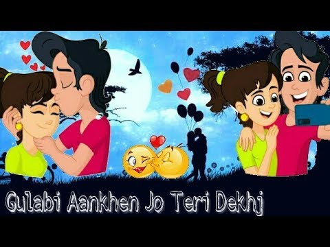 gulabi-aankhen-jo-teri-dekhi-||-30-sec-whatsapp-status-video-||-hindi-whatsapp-status