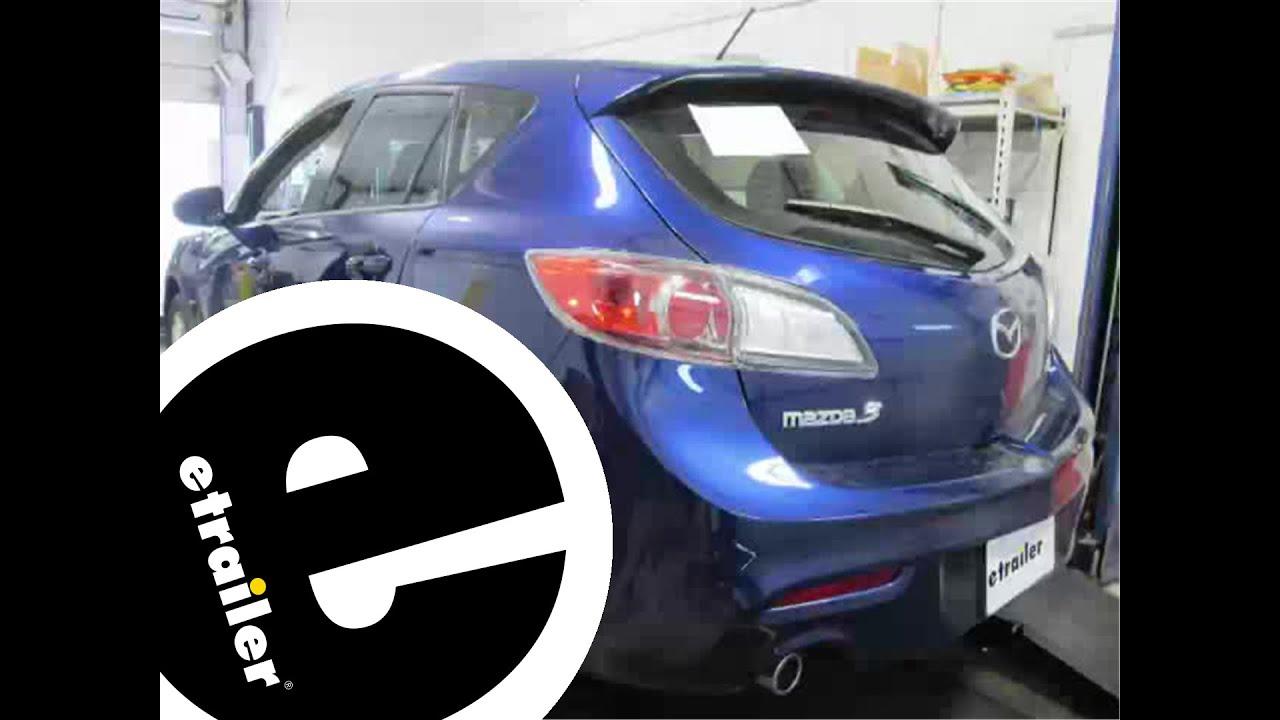 Install Trailer Hitch 2013 Mazda 3 C11383   Etrailer.com