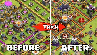 How to MAX Your RUSH BASE in Clash of clans  COC Tips  Trick