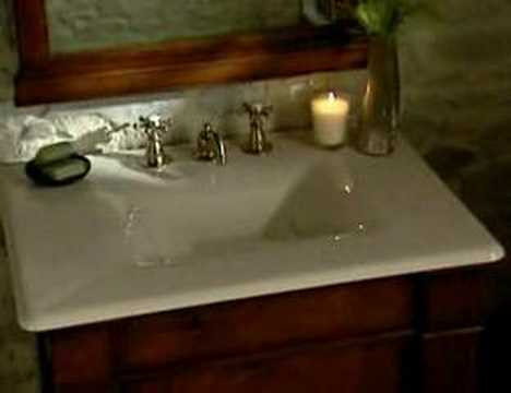 Kohler Iron Impression Vanity and Lavatory Basins - YouTube