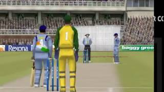 Triple hundred by by Tendulkar 316 EA Cricket 2004 Ind vs Aus Superb Batting  Ind 492/9