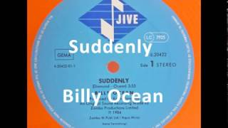 Suddenly 😄    Billy Ocean ❤️   HD (HQ) Audio 1984 from Vinyl  with Lyrics