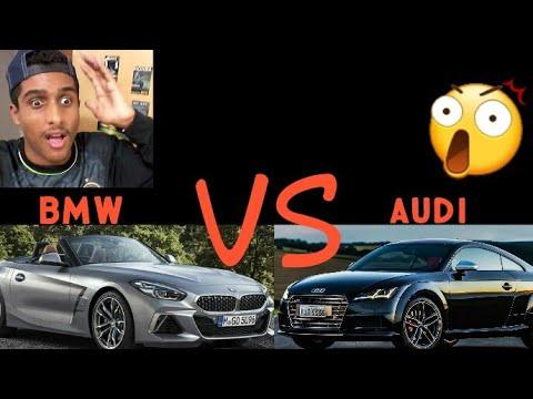 BMW Z4 VS AUDI TT QUAL É O MAIS POTENTE???[ HUGO1015 ...