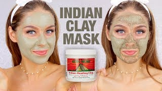 CLAY MASK REVIEW + TUTORIAL | Aztec Secret Indian Healing Clay