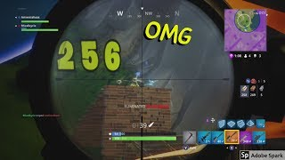 FORTNITE - Ready Aim Fire: HIT! Snipe Compilation + Amnesiahaas!