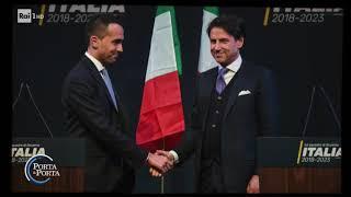 Il ritratto di Giuseppe Conte - Porta a porta 22/05/2018