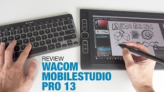 Review: Wacom MobileStudio Pro 13 (Pen demo starts 8:28)