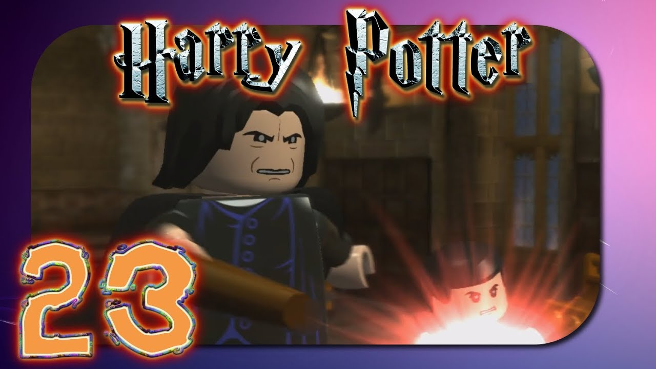 Lego Harry Potter 23 Expelliarmus Let S Play Lego Harry Potter Deutsch Youtube