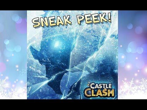 Castle Clash Sneak Peek! New Dragon Hero Arctica!
