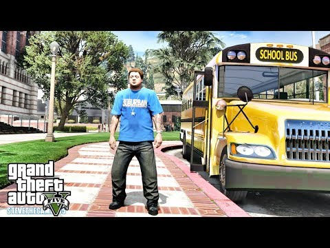 GTA 5 REAL LIFE MOD - JIMMY'S FIRST DAY IN COLLEGE (GTA 5 REAL LIFE MODS)