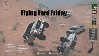 MudRunner MP Flying Ford Friday (Beast Mode, JustCallMeSurge, Banksy's Graffiti)