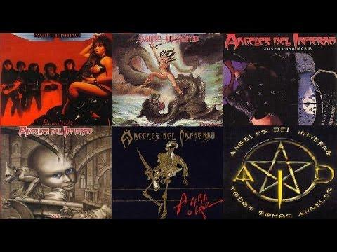 """ANGELES DEL INFIERNO - Full Album """" Las 36 Canciones Mas Rockers de Angeles"""""""