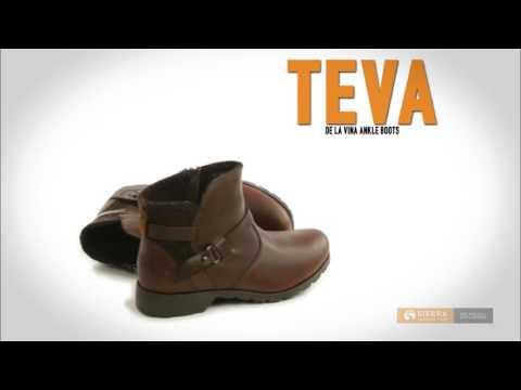Teva De La Vina Ankle Boots - Felted Collar, Leather (For Women)