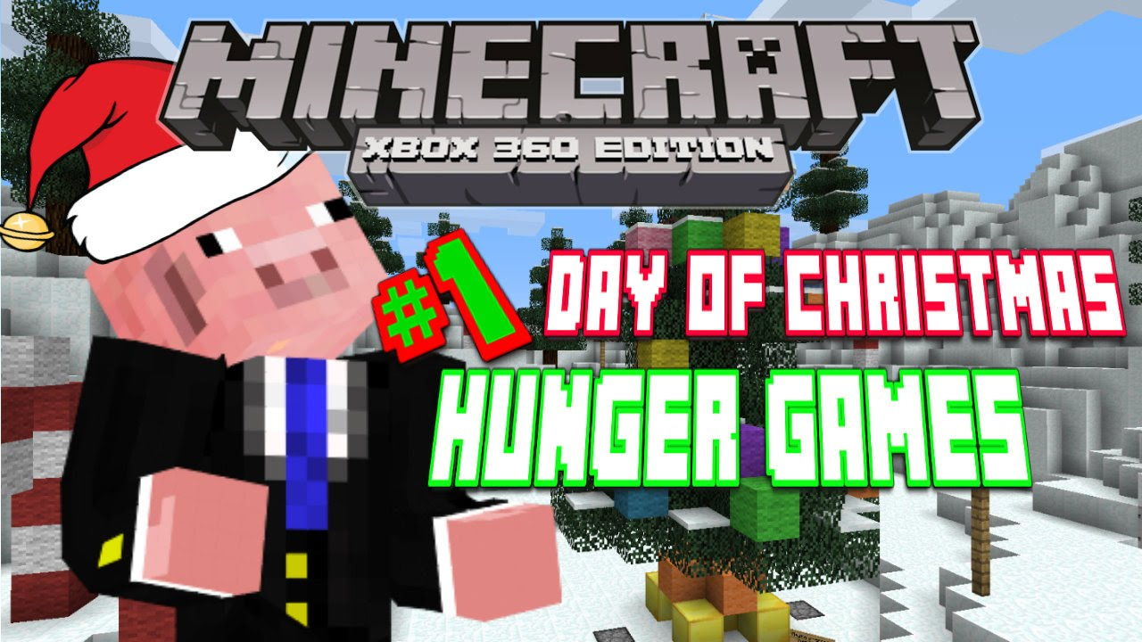 Xbox 360 Hunger Games : Minecraft xbox hunger games ep st day of