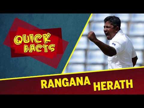 Quick Facts: Rangana Herath