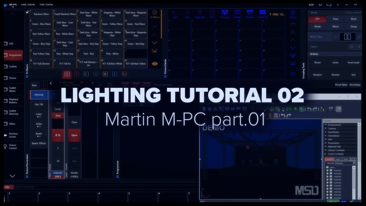 Zyper Martin MPC Tutorial Part 1   Introduction  layout   patch   YouTubeZyper Martin MPC Tutorial Part 1   Introduction  layout   patch  . Martin Lighting Software Free. Home Design Ideas