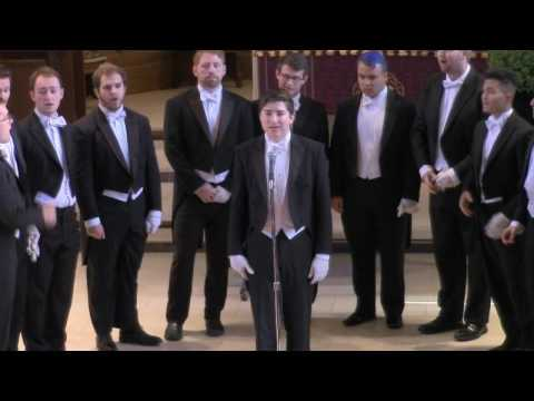 Whiffenpoofs - 12/10/16 - Performing at Under the Spire - Trinity Episcopal Church Southport, CT
