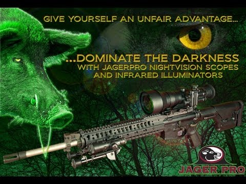 Hog Hunting Equipment | Equipment Demo: - Night Vision Scope | JAGER PRO™