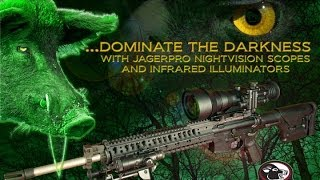JAGER PRO™ Equipment Demo (3)- Night Vision Scope