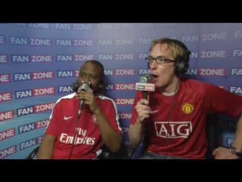 FANZONE - Arsenal 1-3 Manchester United (31/01/10)