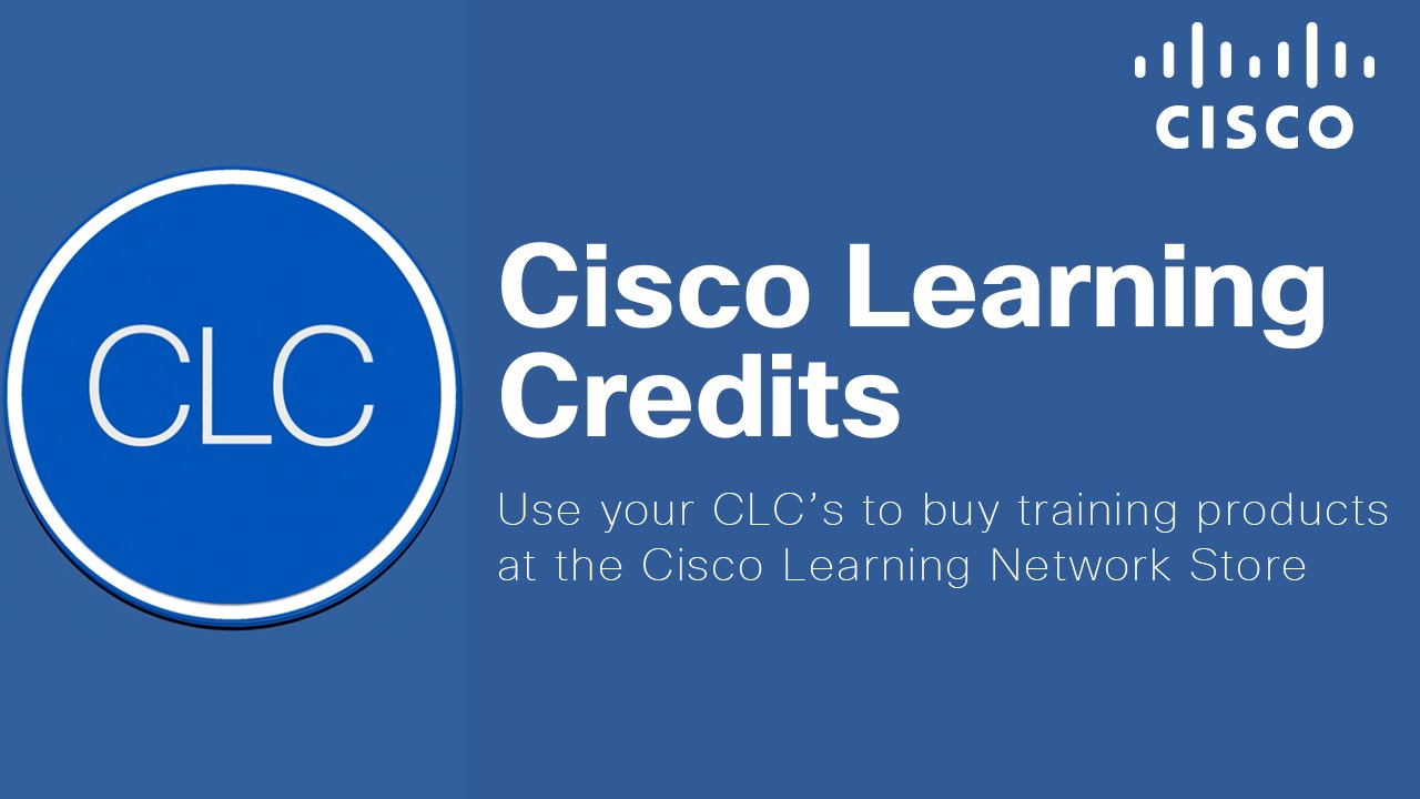 Purchase Quality IT Education Products with Cisco Learning Credits