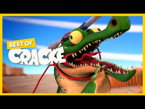 CRACKE - Hungry Crocodile   Best Compilations   Cartoon for kids   by Squeeze