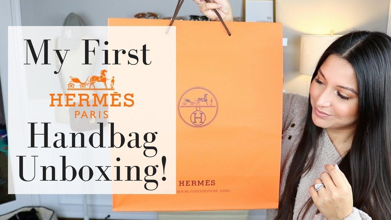 36dd062e49cd HERMES UNBOXING - My First Hermes Handbag