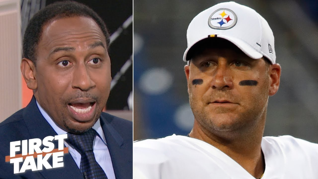 The Steelers are under pressure after being smacked around by the Patriots - Stephen A. | First Take