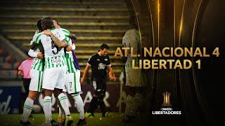 Atlético Nacional vs. Libertad [4-1] | RESUMEN | Fase 3 | VUELTA | CONMEBOL Libertadores
