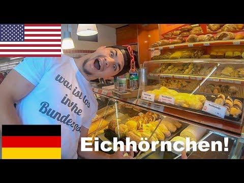 Funny Americans speak German at the Bakery!