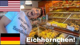 Funny Americans speak German at the Bakery!