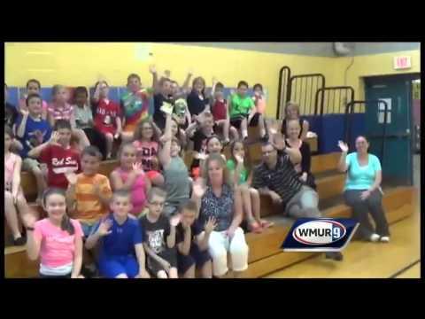 School visit: Nottingham West Elementary School in Hudson