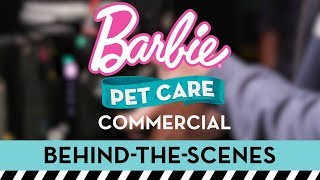 Behind the Scenes on a Commercial Shoot for the Barbie® Pet Care Center™ | Barbie