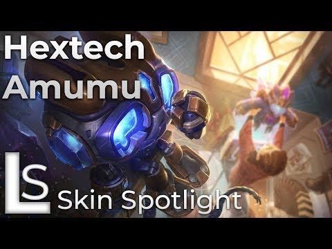 Hextech Amumu - Skin Spotlight - League of Legends