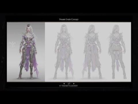 Mortal Kombat 11 Sindel Concept Art Youtube