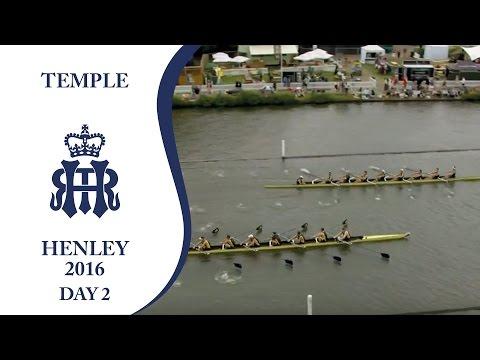 California Berkeley v Drexel U.   Day 2 Henley 2016   Temple