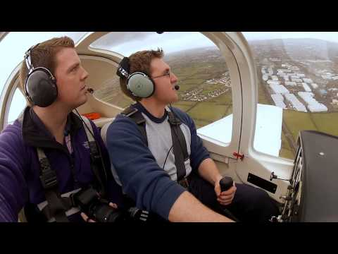 Flying Around Limerick City