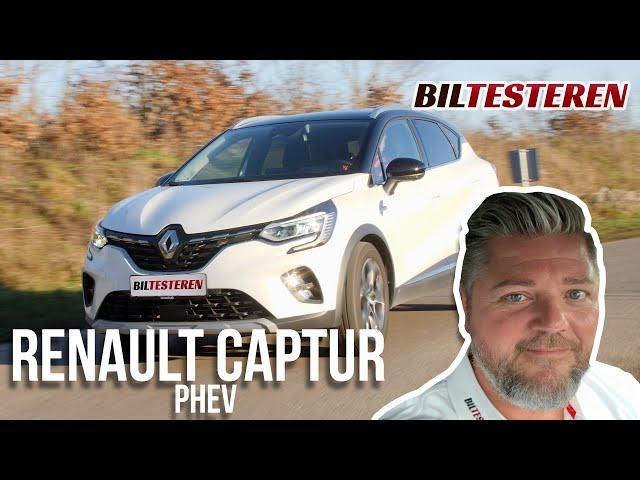 Husk at lade!!! Renault Captur plug-in hybrid (test)