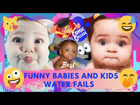 TRY NOT TO LAUGH, Funny BABIES and KIDS Water Fails Compilation Part 2