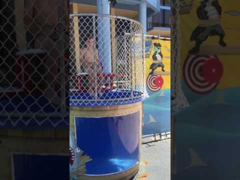 Dunk tank - Paradise Resort Gold Coast 2016