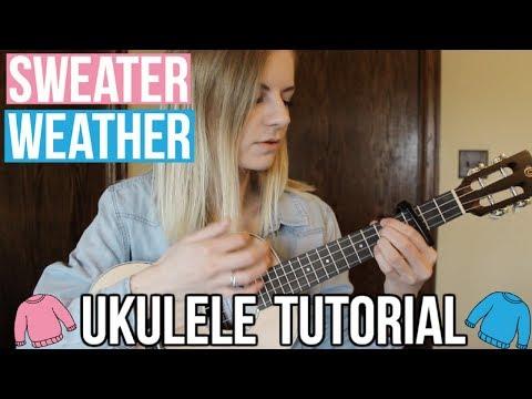 Sweater Weather - The Neighborhood | EASY UKULELE TUTORIAL
