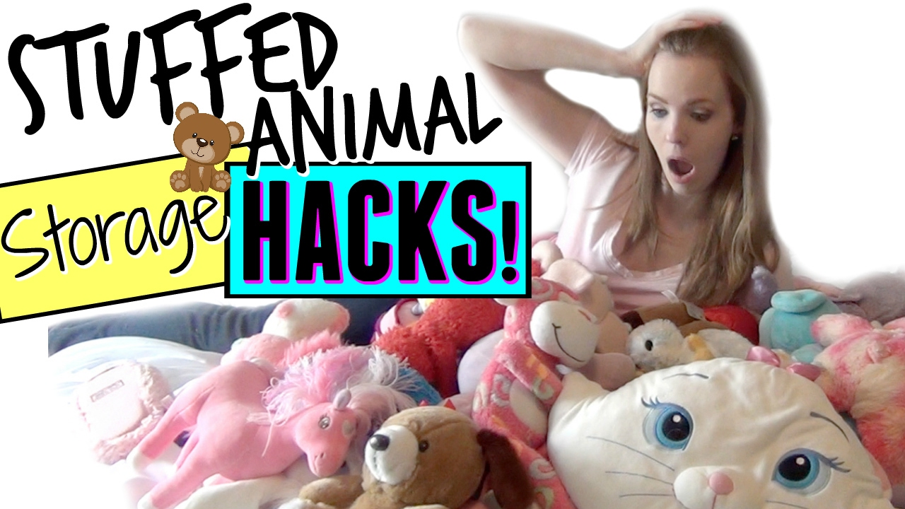 Stuffed Animal Storage Hacks How To Organize Store Stuffed